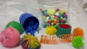 Fidgets - Pom Poms - Monkeys - Slinky