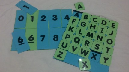 Letter and Number Match