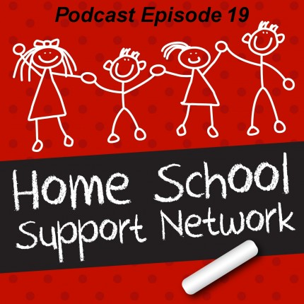 Podcast Logo Home School Support Episode 19 - Teaching a child to Read